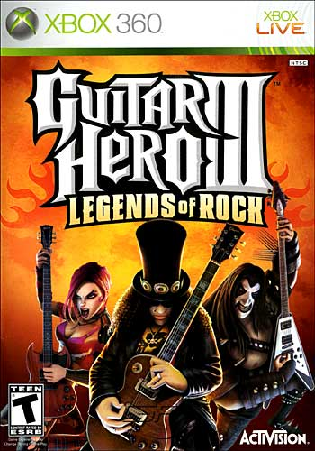 Guitar Hero 3: Legends of Rock (Xbox360)