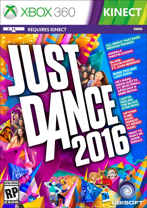 Just Dance 2016 (Xbox360)