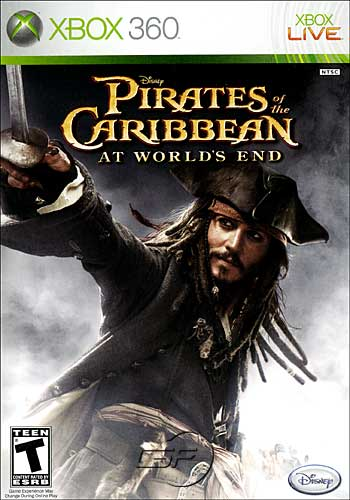 Pirates of the Caribbean: At World's End (Xbox360)