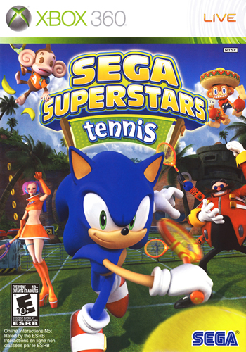 Sega SuperStar Tennis (Xbox360)
