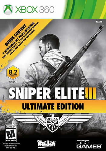 Sniper Elite 3: Ultimate Edition (Xbox360)