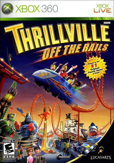 Thrillville: Off the Rails (Xbox360)