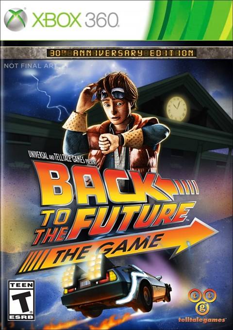 Back to the Future: The Game (Xbox360)