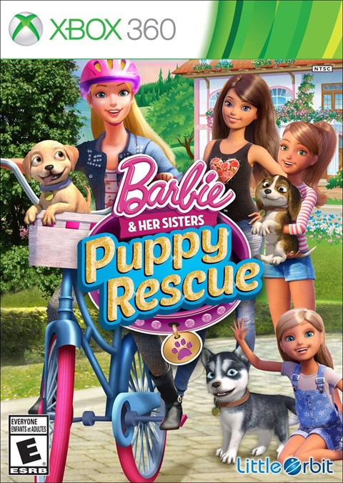 Barbie & Her Sisters: Puppy Rescue (Xbox360)