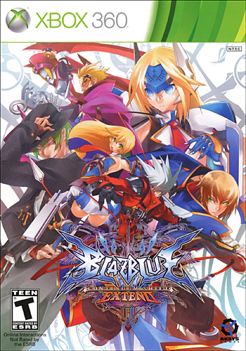 BlazBlue: Continuum Shift EXTEND (Xbox360)