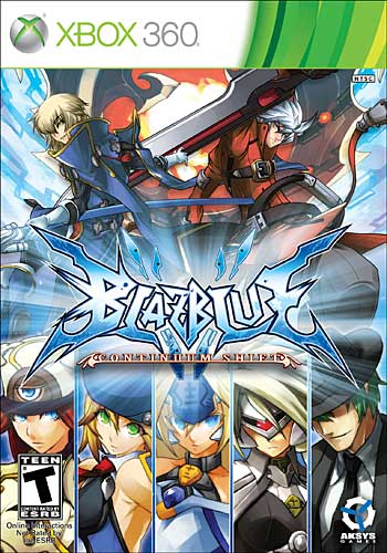 BlazBlue: Continuum Shift (Xbox360)