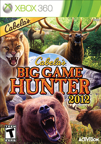 Cabela's Big Game Hunter 2012 (Xbox360)