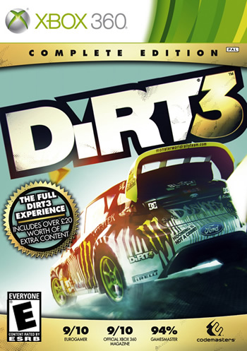 Dirt 3: Complete Edition (Xbox360)