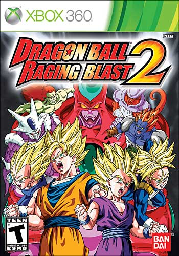 Dragon Ball: Raging Blast 2 (Xbox360)