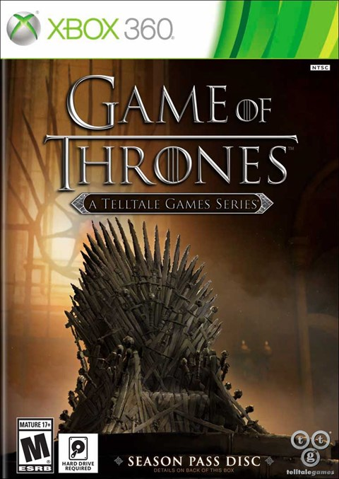 Game of Thrones: A Telltale Games Series (Xbox360)