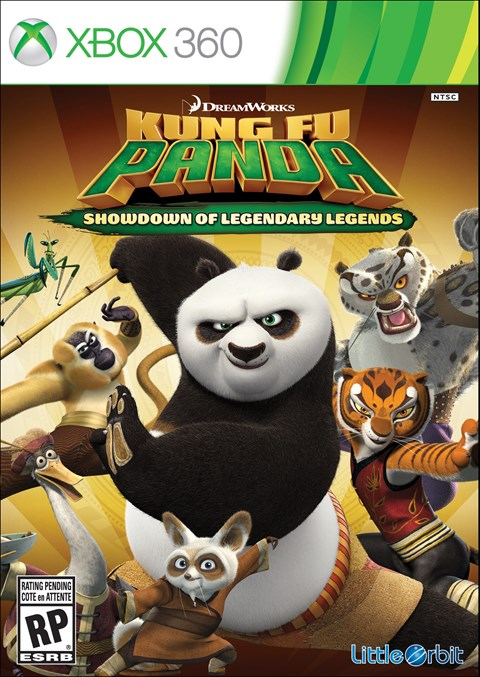 Kung Fu Panda: Showdown of Legendary Legends (Xbox360)