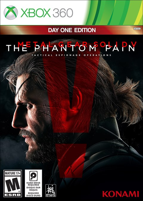 Metal Gear Solid 5: The Phantom Pain (Xbox360)