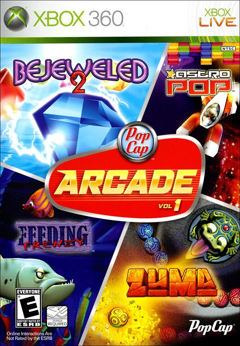 Pop Cap Arcade: Volume 1 (Xbox360)