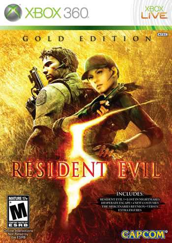 Resident Evil 5: Gold Edition (Xbox360)