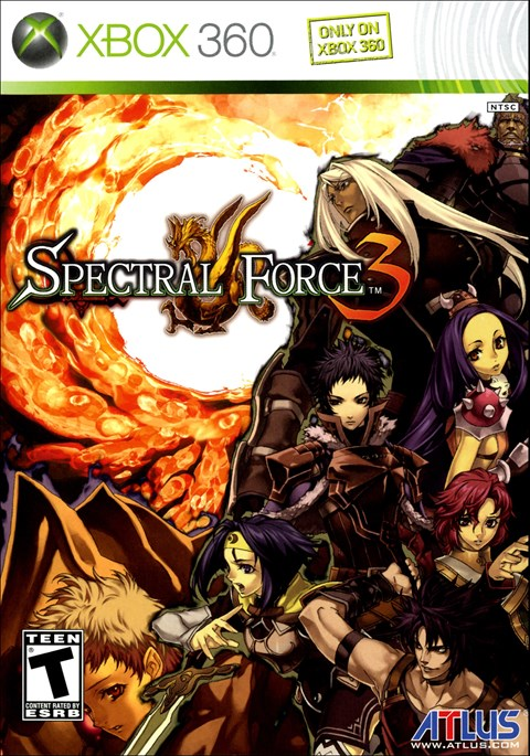 Spectral Force 3 (Xbox360)